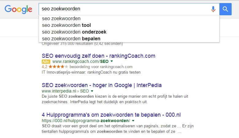 Hoger komen in google in 2016 ... (10 tips)