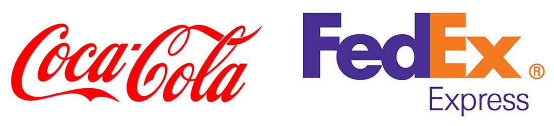 Voorbeelden van tijdloze logo's